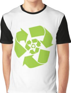 Recycle Recycled Green Graphic T-Shirt