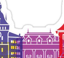 Bern skyline pop Sticker