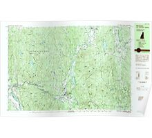 USGS TOPO Map New Hampshire NH Winchester 329919 1984 25000 Poster