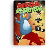 Mega Penguin Canvas Print