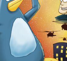 Mega Penguin Sticker