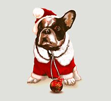 Christmas French Bulldog Unisex T-Shirt