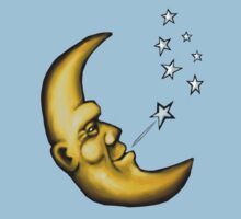 The banana moon puffs out the evening stars One Piece - Short Sleeve