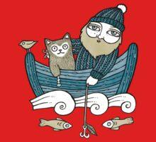 The Fisherman's Cat (Tee) Baby Tee