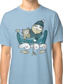The Fisherman's Cat (Tee) Classic T-Shirt