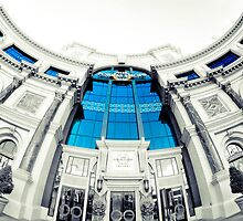 Forum Shops Fisheye by Elowrey