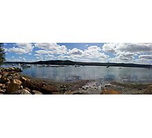 Panoramic view from Gosford Photographic Print