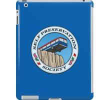 Self Preservation Society iPad Case/Skin