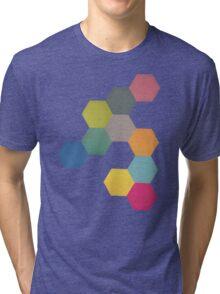 Honeycomb I Tri-blend T-Shirt