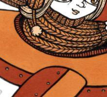 Elenors Empennage (Edinburgh Castle) Sticker