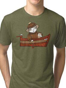 Dawn & Dinky (Dunbar Harbour) Tri-blend T-Shirt