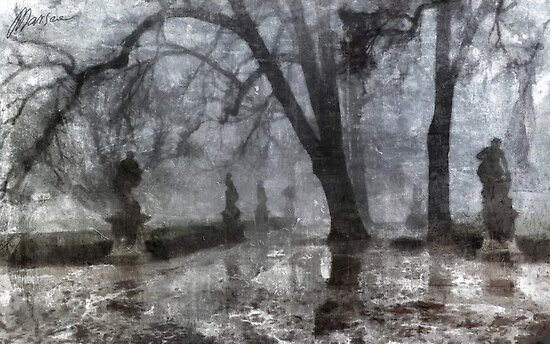Old park by Marsea