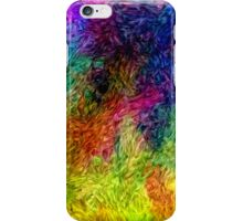 Winter Wildfire Abstract iPhone Case/Skin