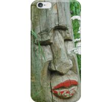Indian Totem With Lipstick iPhone Case/Skin