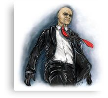 Hitman Absolution Canvas Print