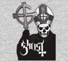 Ghost B.C. - Papa Emeritus II One Piece - Long Sleeve