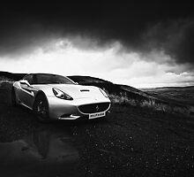 Ferrari California - Black and White by ademcfade