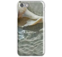 Sea Shell in the Tide iPhone Case/Skin