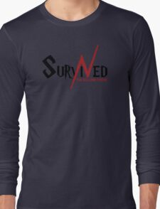 SURVIVED THE KILLING CURSE (first version) Long Sleeve T-Shirt