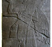 The Assyrian God Ashur, Pergamon Museum, Berlin by docnaus