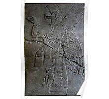 The Assyrian God Ashur, Pergamon Museum, Berlin Poster