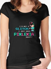Pixlexia Women's Fitted Scoop T-Shirt