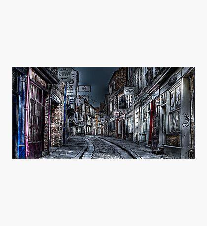 Night in the Shambles York Photographic Print