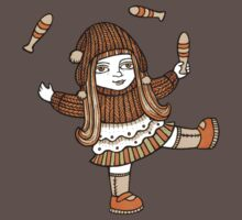 Fern's Fun at the Fringe (Tee) Kids Clothes