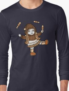 Fern's Fun at the Fringe (Tee) Long Sleeve T-Shirt