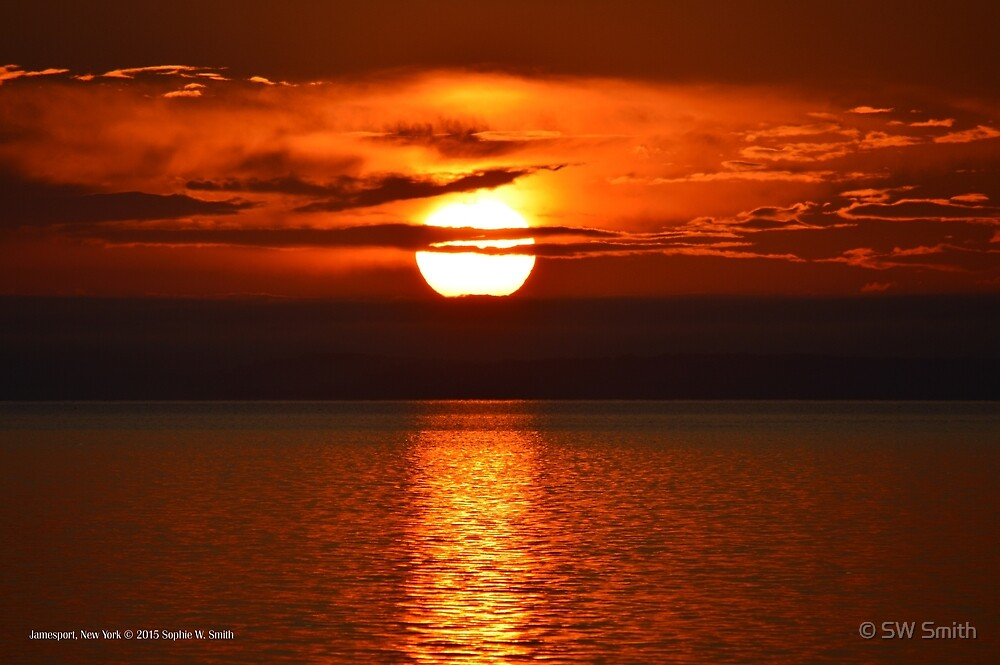 Little Lady's Sunrise | Jamesport, New York  by © Sophie W. Smith
