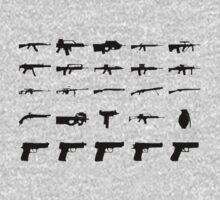 Guns Collection by zachattacker
