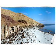 the cashen ballybunion in frozen landscape Poster