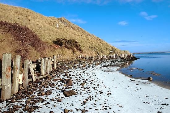 the cashen ballybunion in frozen landscape by morrbyte