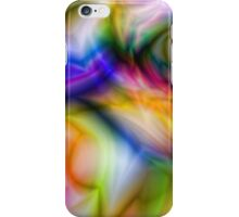Abstract Owl Face iPhone Case/Skin