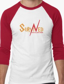 SURVIVED THE KILLING CURSE (second version) Men's Baseball ¾ T-Shirt