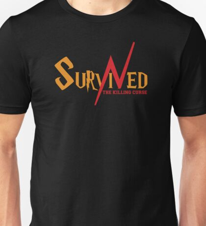 SURVIVED THE KILLING CURSE (second version) Unisex T-Shirt