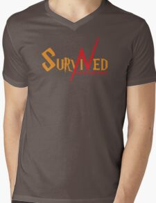 SURVIVED THE KILLING CURSE (second version) Mens V-Neck T-Shirt