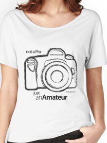 Amateur Photographer Women's Relaxed Fit T-Shirt