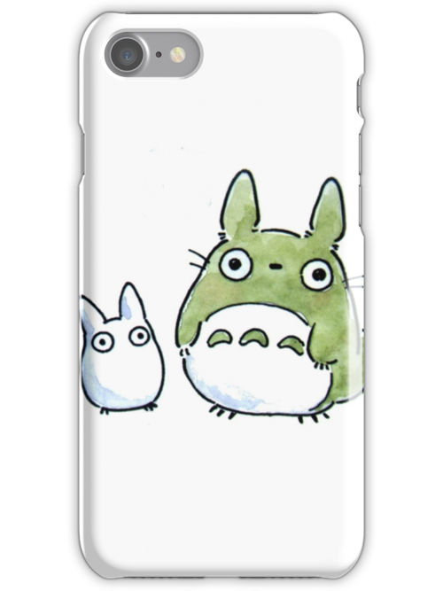 Totoro iPhone/iPod case by iPinkly