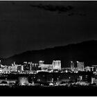 Las Vegas Skyline by RichardBlanton