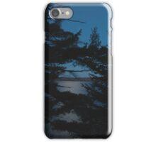 Gunflint Lake on October Night iPhone Case/Skin