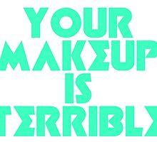 Alaska Your Makeup Is Terrible by klaud