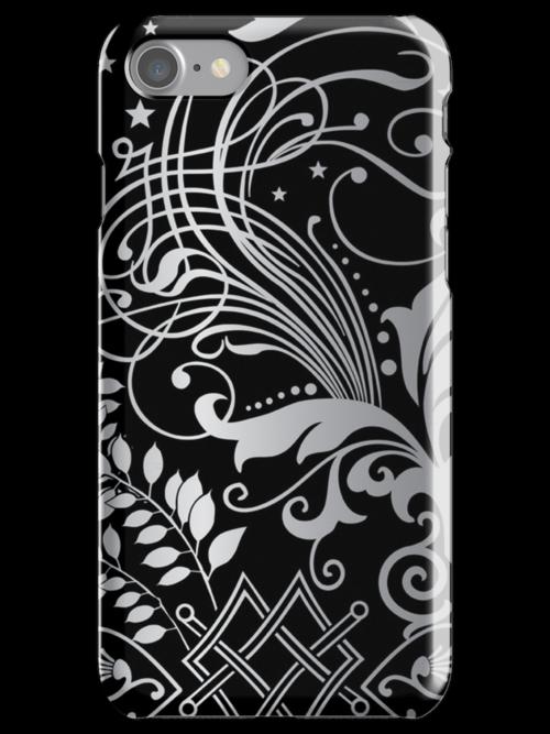 Gray Scale Swirls by pjwuebker