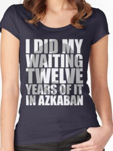 I Did My Waiting Women's Fitted Scoop T-Shirt