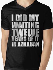 I Did My Waiting Mens V-Neck T-Shirt