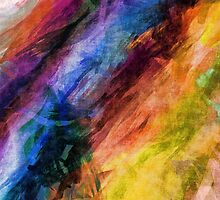 Feather Boas Abstract by pjwuebker