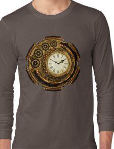 Steampunk Time Machine Long Sleeve T-Shirt