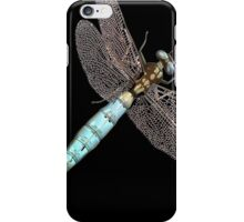 Dragonfly on Black iPhone Case/Skin