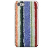 Colorful Terry Cloth Towel iPhone Case/Skin