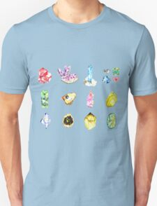 Watercolor Birthstones T-Shirt